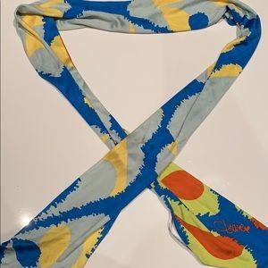 Authentic Diane von Furstenberg 100% silk scarf